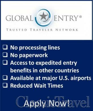 Classic Travel - News - Benefits of Global Entry